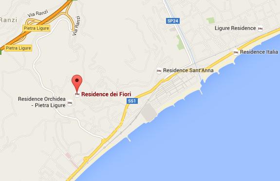 Residence Dei Fiori in Pietra Ligure